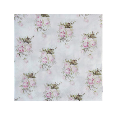 Decoupage Napkin 12x12 inch- Misty Rose