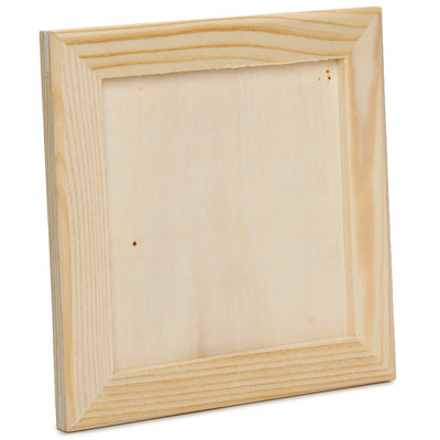 Wooden Photo Frame - 14x14cm, 1 Pc