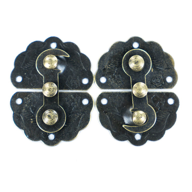 Vintage Chest Latch with Screw - 2pc