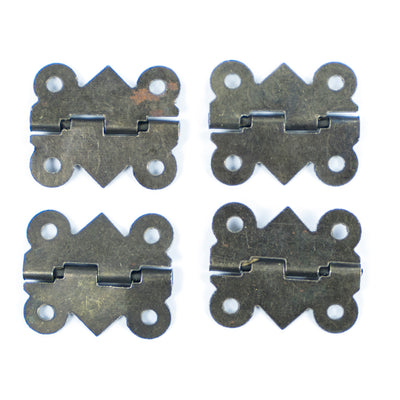 Antique Door Hinge with Screws- 4pc