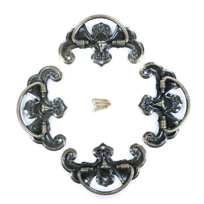 Antique Ring Handle- Epoch, 4pc
