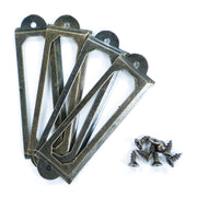 Metal Label Holder with Screws- 2inch, 4 pcs