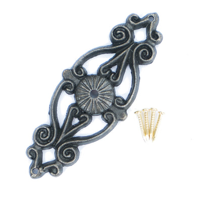 Metal Decorative Flourish -  , 2pc