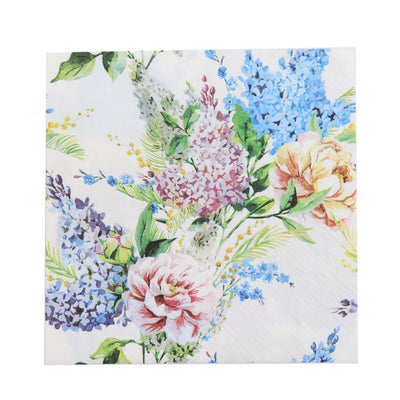Decoupage Napkin Blooming Wild 13X13 Inch -1Pc