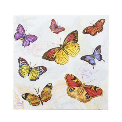 Decoupage Napkins 13 X 13 Inch- Butterfly Beauty , 3 Ply, 1Pc