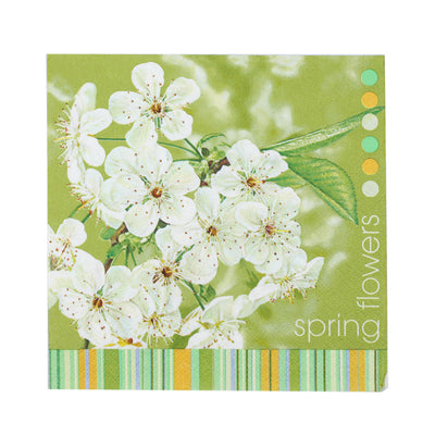 Decoupage Napkins 13 X 13 Inch- Spring Flowers , 3 Ply, 1Pc