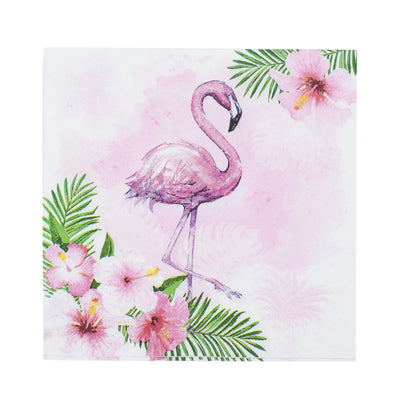 Decoupage Napkins 13 X 13 Inch- Wild Flamingo , 3 Ply, 1Pc