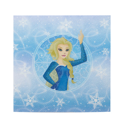 Decoupage Napkins 13 X 13 Inch- Winter Princess , 3 Ply, 1Pc