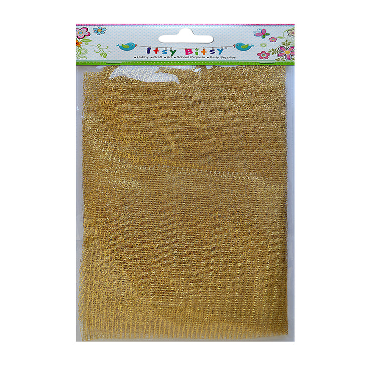 Net Fabric - Gold 1mt