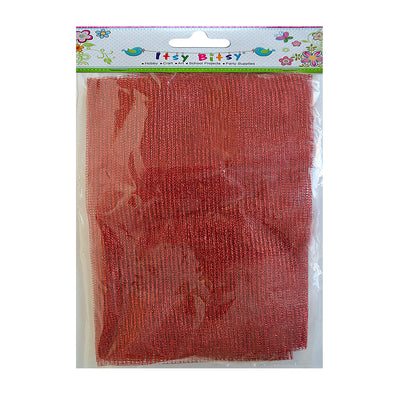 Net Fabric - Red 1mt
