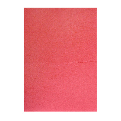 Polyester Felt Sheet A4 size - Crimson Red