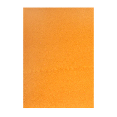 Polyester Felt Sheet A4 size - Orange