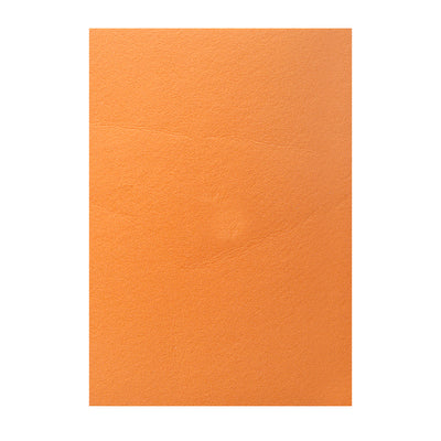 Polyester Felt Sheet A4 size - Sunset Orange