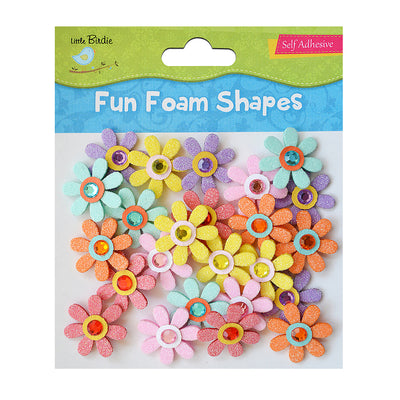 Fun Foam Shapes - Jewelled Daisies