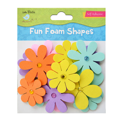 Fun Foam Shapes- Jewelled Blooms