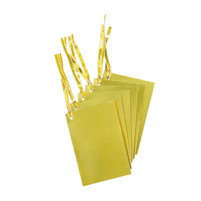 Gifting Foil Tag - Gold 6pcs