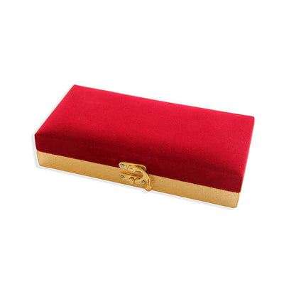 Cash Gift Box - Red And Gold