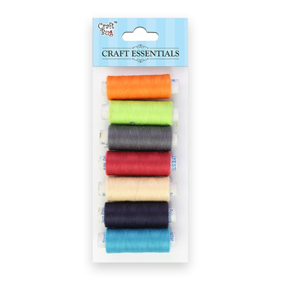 Stitching Thread 7 pcs - Assorted Colours