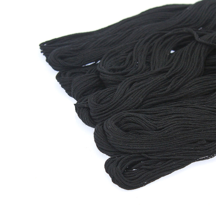 Embroidery Skeins colour- Black