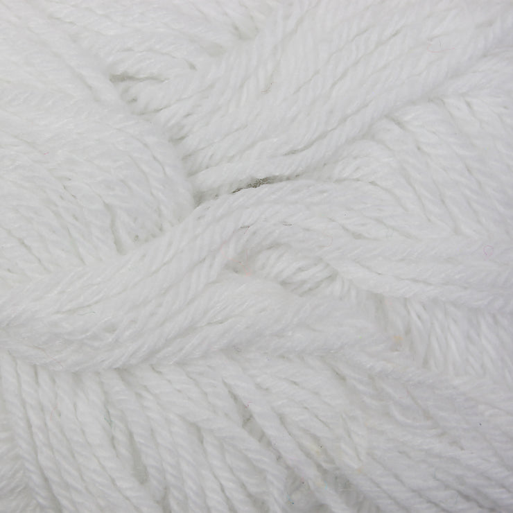 Woollen Yarn 12 gm  12 gm - White