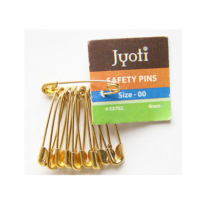 Safety Pin 10pcs- Size 00