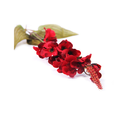 Artificial Flower - Gladiolus, Red