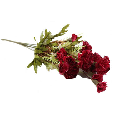 Artificial Carnation - Small, Red