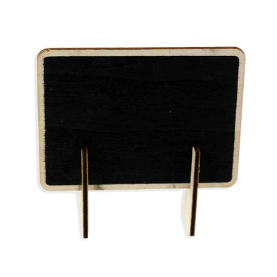 Mini Rectangle Chalk Board With Stand