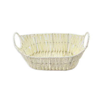 Wicker Basket - Oval With Handle