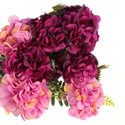 Artificial Duchess Peony-Purple Paradise