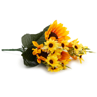 Artificial Flower- Sunshine, 12inch, 1 Sprig