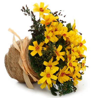 Artificial Flower Bouquet- Sunshine Daisy, 7cm, 1 pc