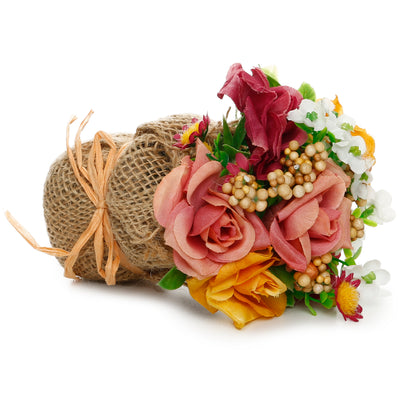 Artificial Flower Bouquet- Blooming Beauty , 6.5cm, 1 pc