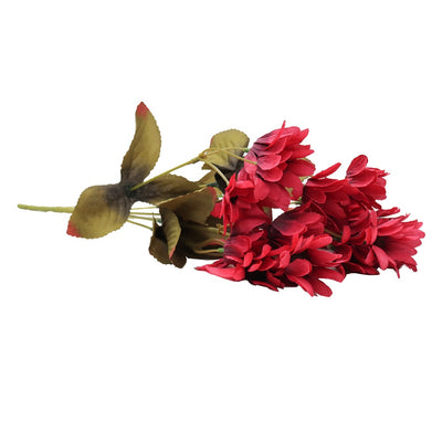 Artificial Flower - Sweet Daisy, Berry Punch, 1 Sprig