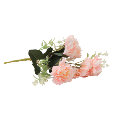 Artificial Flower - Peony Bouquet, Blush Pink, 1 Sprig