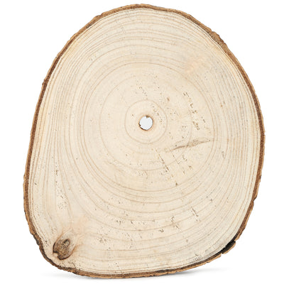 "Wooden Slices - 8"", 1Pc"
