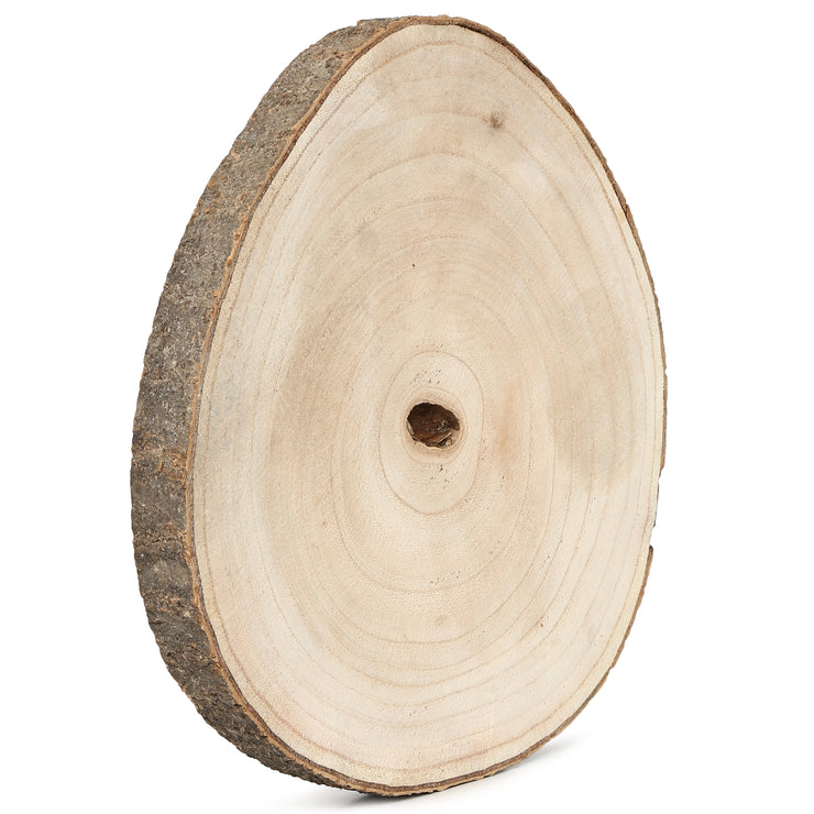 "Wooden Slices- 12"", 1Pc"