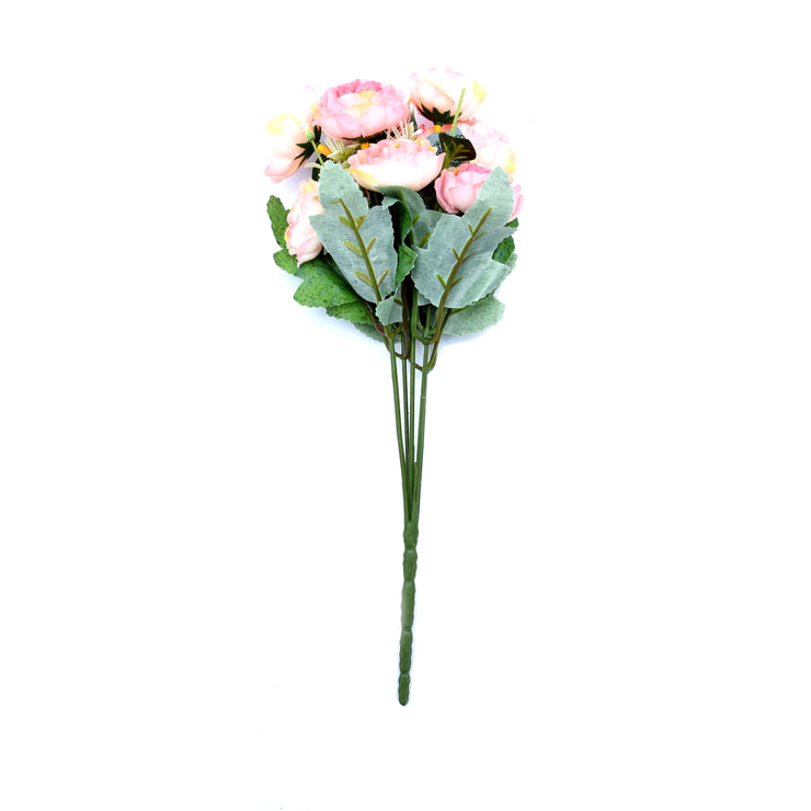 Peony Bunch Pink With Cream -1Pc