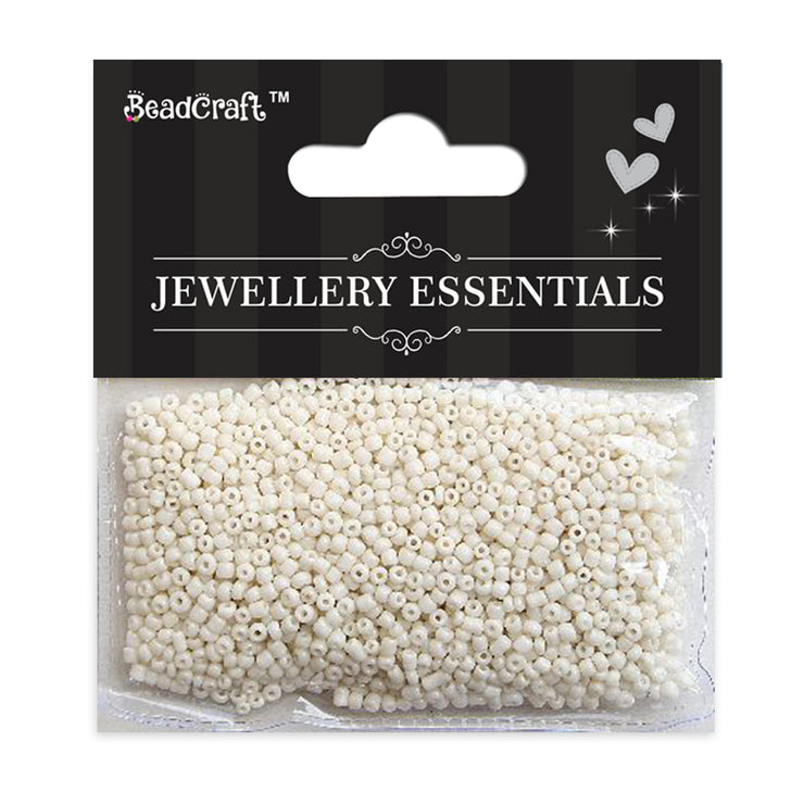 Seed Beads 30gm- Off White