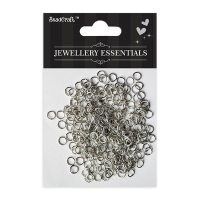 Findings - Open Jump Ring, Nickel 8mm