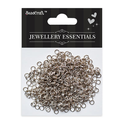 Findings - Open Jump Ring, Nickel 6mm