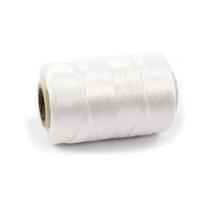 Silk Thread 600mt - Pearl White