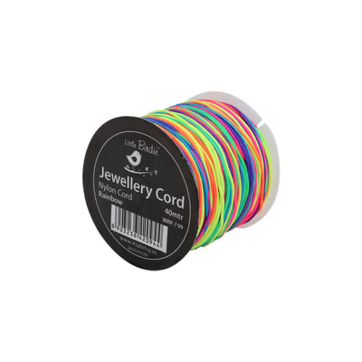 Nylon Cord Rainbow - 40mtrs, 1Roll