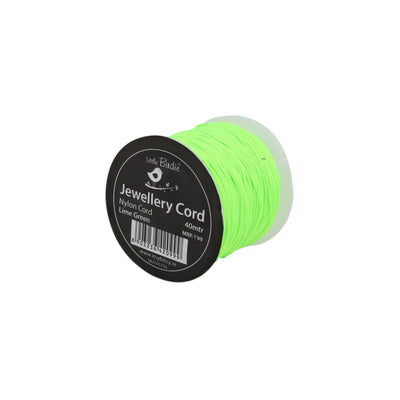 Nylon Cord Lime Green - 40mtrs, 1Roll