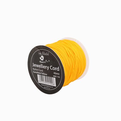 Nylon Cord Sunshine Yellow - 40mtrs, 1Roll