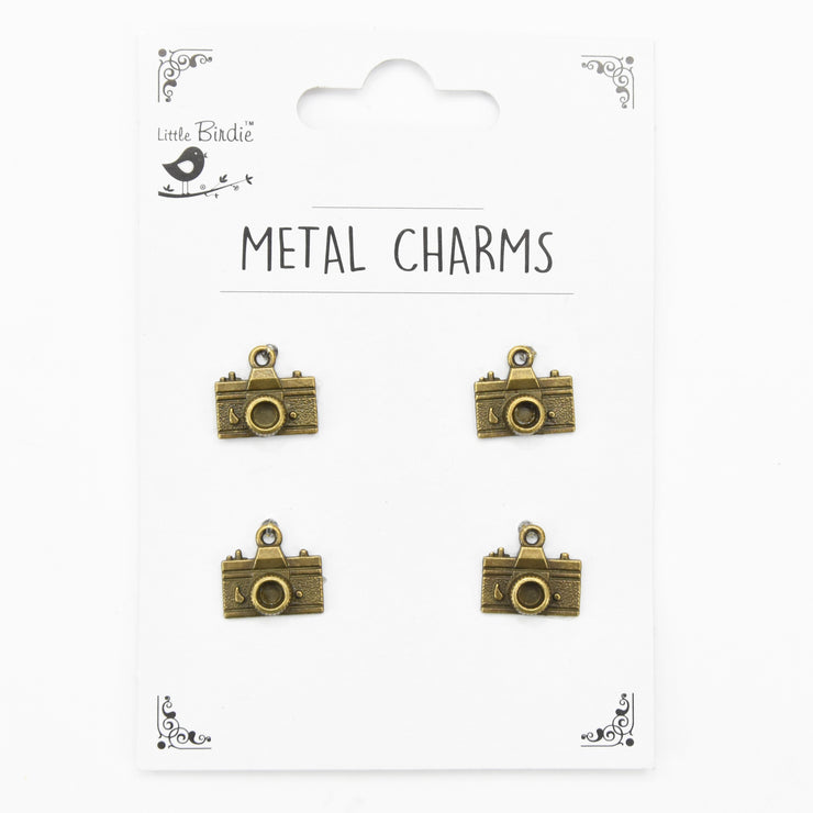 Metal Charms - Perfect Clicks, 4pc