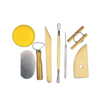 Pottery Tool Kit -8pcs