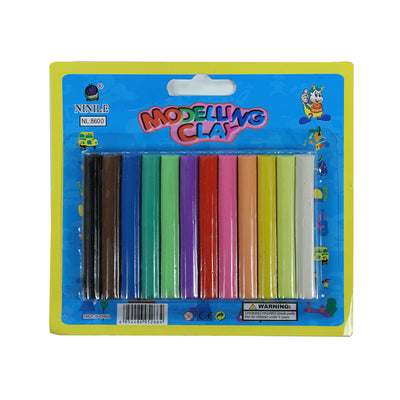 Modelling Clay - Assorted Colours 12pcs