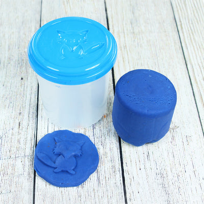 Modelling Clay In Container - Blue