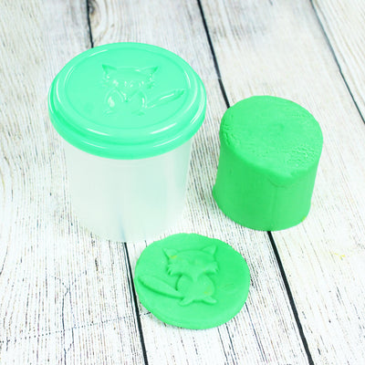 Modelling Clay In Container - Green